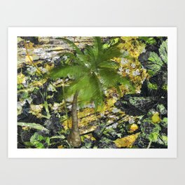 BUNGLE IN THE JUNGLE Art Print