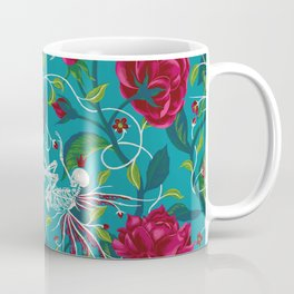 Death of Summer (carmine and blue) Coffee Mug