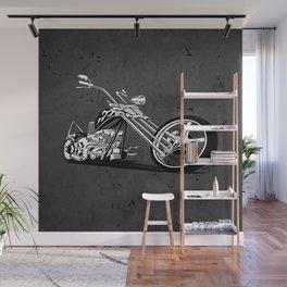 Custom American Chopper Motorcycle Wall Mural