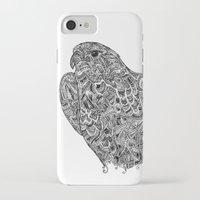 hawk iPhone & iPod Cases featuring Hawk by kayse wieneke