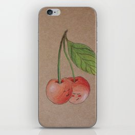 Shy cherries iPhone Skin
