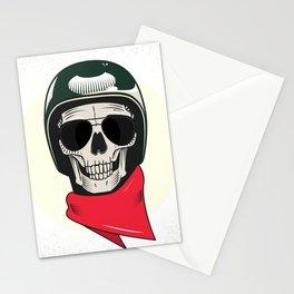 Army skull Stationery Cards