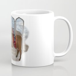 intestinal cow mirrow Coffee Mug