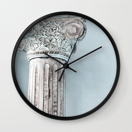 Corinthian capital Wall Clock