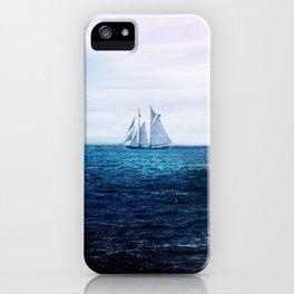 Sailing Ship on the Sea iPhone Case