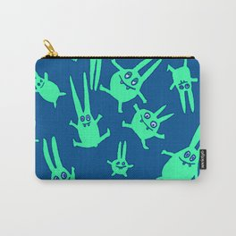 bunnies in weightlessness Carry-All Pouch