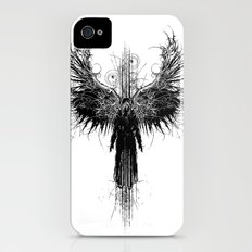 Particles and Angels Slim Case iPhone (4, 4s)