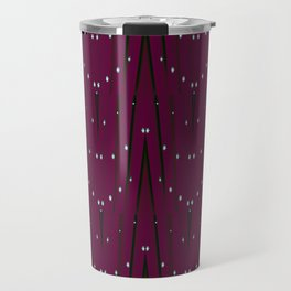 Holiday Burgundy Travel Mug