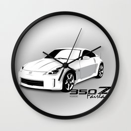 350Z Wall Clock