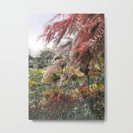 Misty Monet Gardens Metal Print