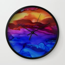 Calm the Storm Wall Clock