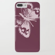 Pink Butterfly iPhone 7 Plus Slim Case