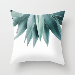 Agave fringe Throw Pillow