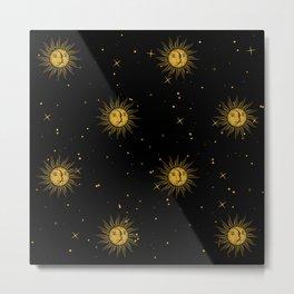sunmoon Metal Print