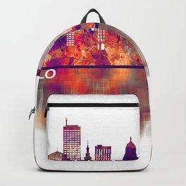 Buffalo New York Skyline Backpack
