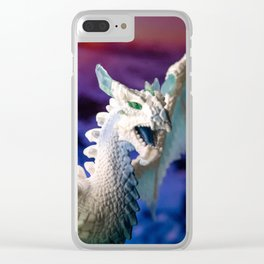 Ice Dragon 3 Clear iPhone Case