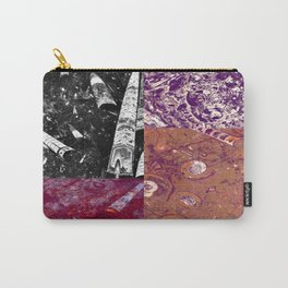 Ancient Seabed Collection Collage - Multi Carry-All Pouch