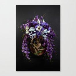 Willow Blossom Muertita Canvas Print