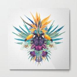 Tropical Tucan Metal Print