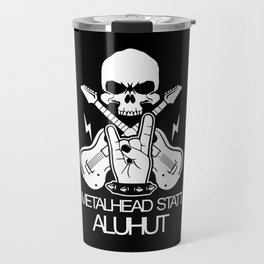 Metalhead Rock and Roll Metal Music Travel Mug