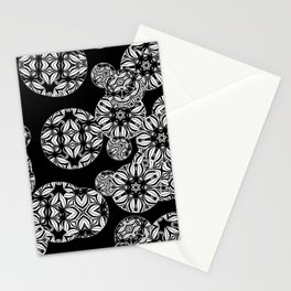 Black and white abstract 25 Stationery Cards