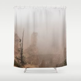 Bryce Canyon Obscured Shower Curtain