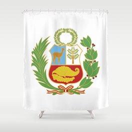 Peru Shield Shower Curtain