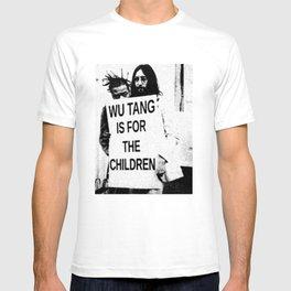 For The Children ODB Wu Tang RZA GZA ODB Chambers Hip Hop Gun T-shirt