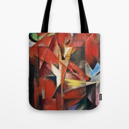 Franz Marc  -  The Foxes Tote Bag