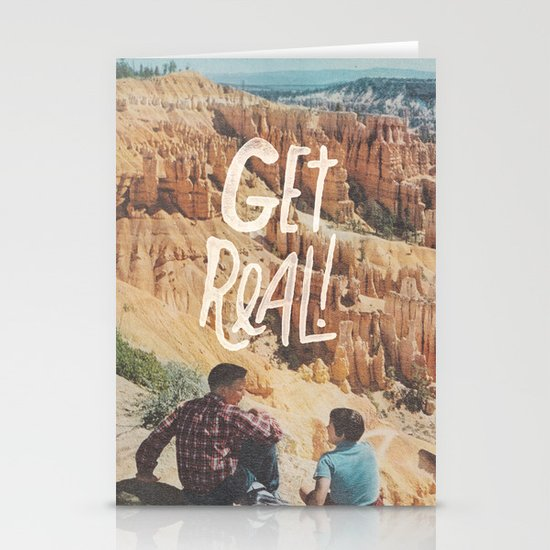 GET REAL! Stationery Cards