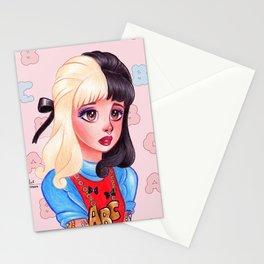Alphabet Girl Stationery Cards