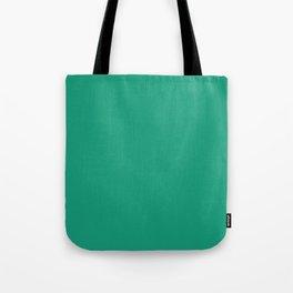 Emerald Green Color Tote Bag