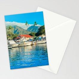 Lāhainā Marina Sunset Maui Hawaii Stationery Cards