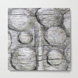 Spheres & Ridges Metal Print