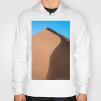 dune Hoodies featuring Dune Hike by Katie Jo Sheppard