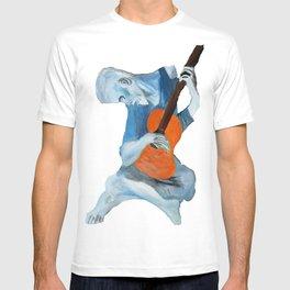 Picasso's Blue Man  T-shirt