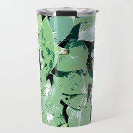 Hosta 01 Travel Mug