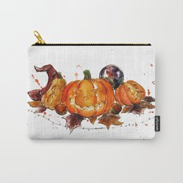Pumpkins + Squashes Carry-All Pouch