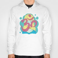 om Hoodies featuring Om by Monstruonauta