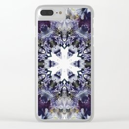 GLADIOLUS Clear iPhone Case