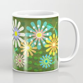 In The Garden Among The Flowers Coffee Mug
