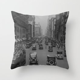Fifth Ave  Throw Pillow