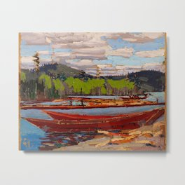 Tom Thomson - Boat Metal Print