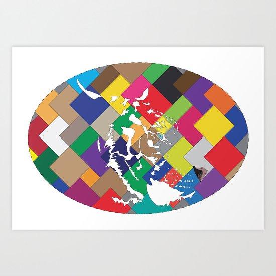 MaTiger Art Print