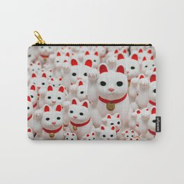 Lucky Cats Carry-All Pouch