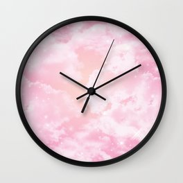 Starry Sunset Wall Clock