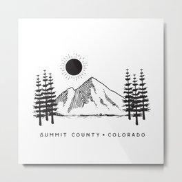 Summit County, Colorado Metal Print