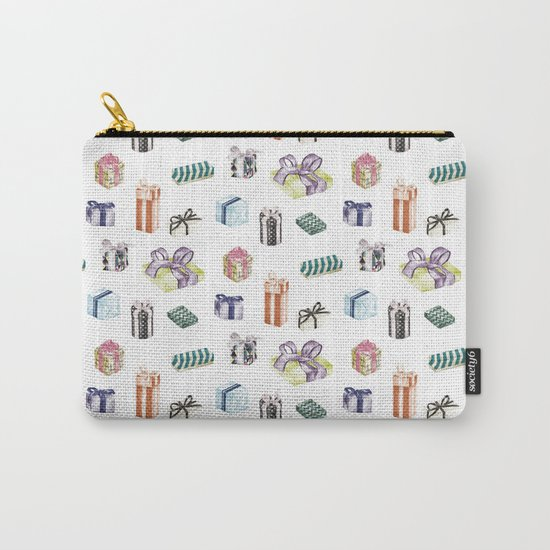 Birthday Presents Colour by Chrissy Curtin Carry-All Pouch