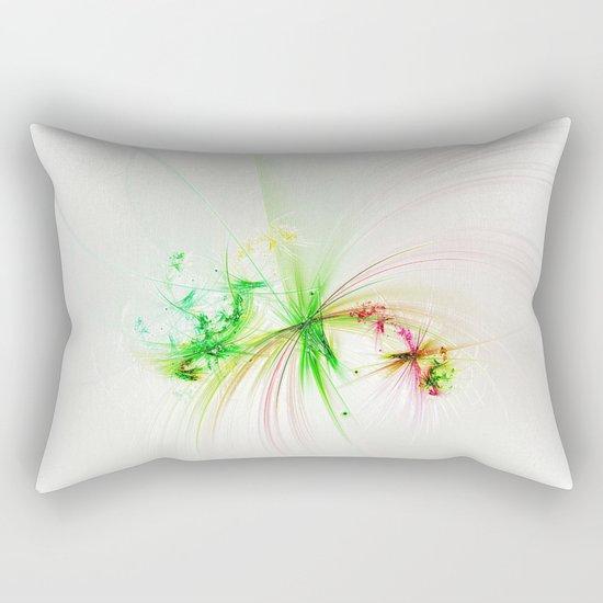 Plastic splatter Rectangular Pillow