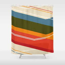Untitled VIII Shower Curtain